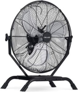 "9. NewAir 20"" 2-in-1 High-Velocity Floor or Wall Mounted Fan"