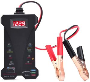 AUTDER Car Battery Tester 12V Digital Battery Tester