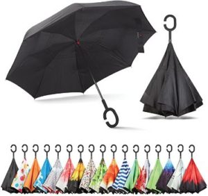 #1 Sharpty Inverted Umbrella for Women with UV Protection