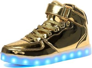 10. Voovix Kids LED Light up Shoes