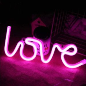 #2 MorTime Love Neon Signs, LED Neon Light Decoration