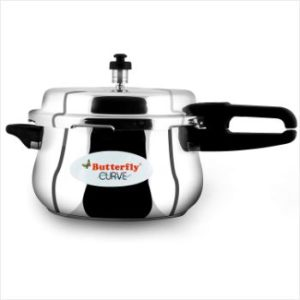 2. Butterfly Stainless Steel 5.5 L Pressure Cooker