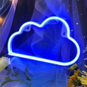 #3 Blue Cloud Light Neon Signs Neon Lights