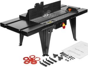 #4 XtremepowerUS Deluxe Bench Top Aluminum Electric Router