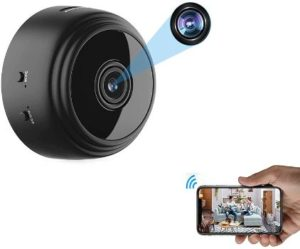 4. OVEHEL Mini WiFi Spy Camera