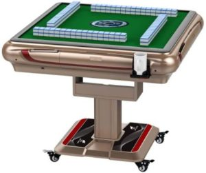 #5 C50 Automatic Foldable Mahjong Table with 2 sets Tiles