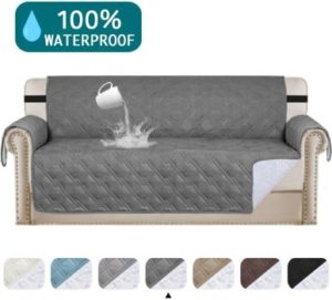 5. Turquoize 100% Waterproof Couch Cover