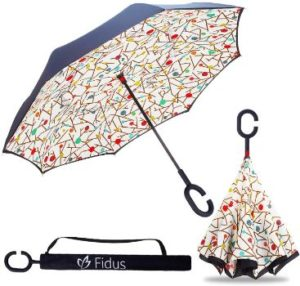 #6 ZOTIA Double Layer Inverted Reverse Umbrella