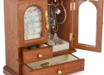 Top 10 Best Wooden Jewelry Boxes in 2021 Reviews