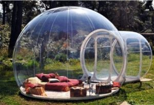 6. Stargaze Outdoor Inflatable Bubble Camping Tent