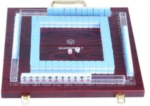 #7 Erencook Miniature Chinese Mahjong Game 144 Mini-Tiles