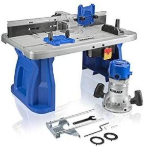#7 Kobalt Fixed Corded Router with Table Included