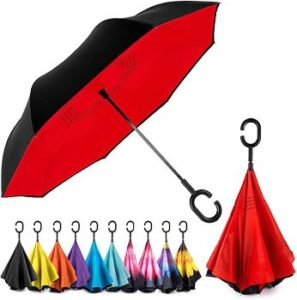 #9 EEZ-Y Reverse Inverted Windproof Umbrella