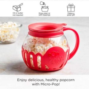 #1. Ecolution Original Microwave Micro-Pop Popcorn Popper