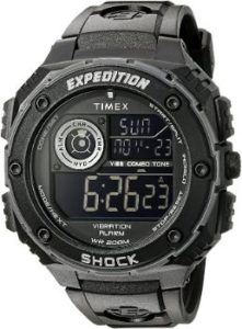 1. Timex Expedition Vibe Shock Watch