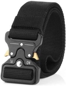 10 Tactical Belt, Quick Release Nylon Belt