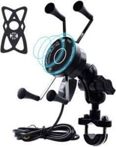 10. CARBONLAND Motorcycle Phone Mount