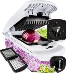 10. Fullstar Vegetable Chopper -4 Blades