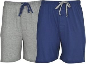 10. Hanes Men's 2-Pack Cotton Knit Short