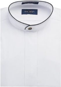 10. Neil Allyn Men's Dress Shirt Banded Collar