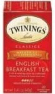 10. Twinings Decaf English Breakfast Tea