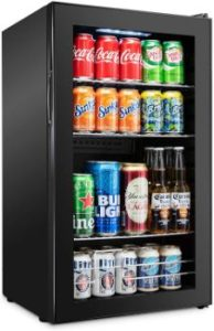 2. Ivation 126 Can Beverage Refrigerator