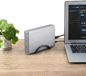 2. RSHTECH USB C Hard Drive Enclosure