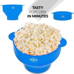 #2. The Original Popco Silicone Microwave Popcorn Popper