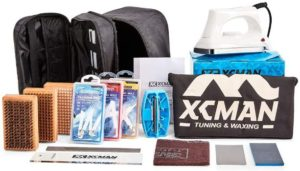 2. XCMAN Complete Ski Snowboard Tuning and Waxing Kit