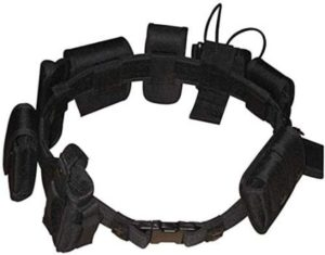 3. Black Law Enforcement Belt