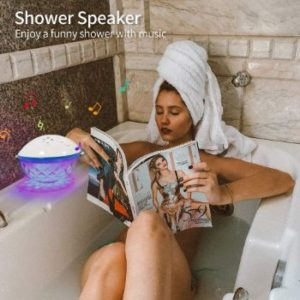 3. Bluetooth Speakers with Colorful Lights
