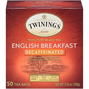 3. Twinings of London Decaffeinated Herbal Tea Bags