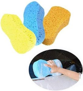 4. 3pcs Car Wash Sponges
