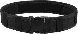 4. AGPtek Police, Tactical, Security, Gear Utility Nylon Belt