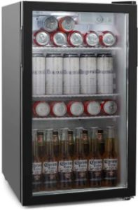 4. COOLLIFE Beverage Refrigerator Cooler - 60Can