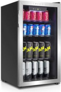 5. Crownful Beverage Refrigerator and Cooler
