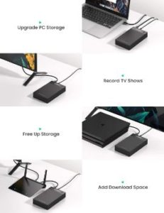 5. UGREEN External Hard Drive Enclosure