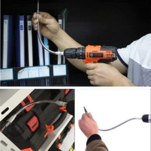 6. TOOLTOO Flexible Extension Drill Bit Holder