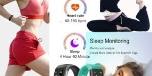 6. Vabogu Fitness Tracker HR, Vibrating Alarm