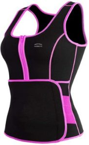 7. ALONG FIT Women's Sweat Sauna Vest