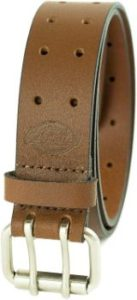 7. Dickies Men's Leather Double Prong Belt