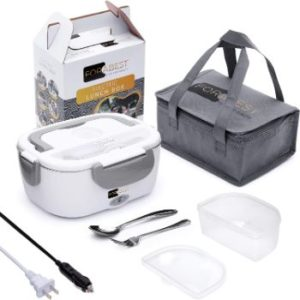 7. FORABEST 2-In-1 Portable Food Warmer Lunch Box