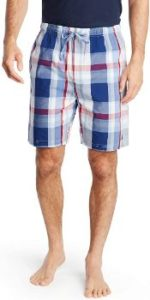 7. Nautica Men's Soft Woven Sleep Pajama Short