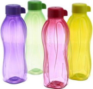 7. Tupperware Eco Sports 1 Litre Water Bottle ( Set of 4)