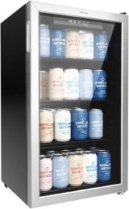 7. hOmeLabs Beverage Refrigerator and Cooler - 120 Can