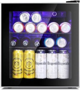 8. Antarctic Star Mini Fridge Cooler - 60 Can