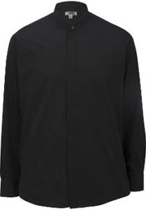8. Edwards Men's Banded Collar Shirt