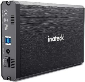 8. Inateck 3.5 Hard Drive Enclosure