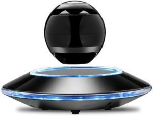 8. Infinity Orb Levitating Bluetooth Speakers