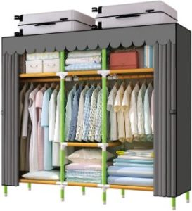 8. YOUUD 65 Inches Wardrobe